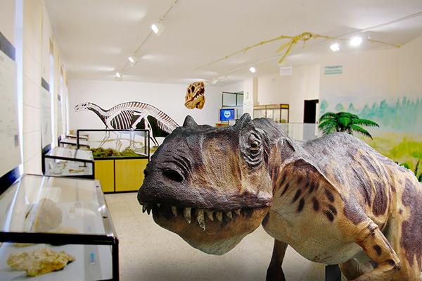 Museo de los dinosaurios de Salas de los Infantes