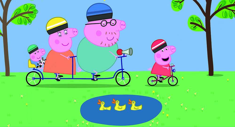Peppa Pig en Madrid con el Día del Planeta