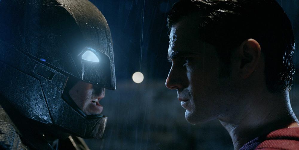 Superman y Batman, protagonistas de la cartlera de cine
