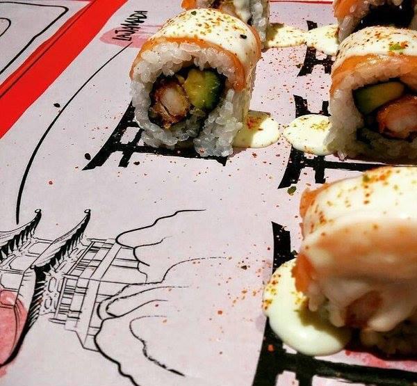 Sushi en La Jamada