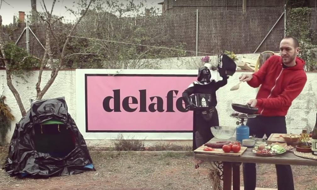 Video de 'Lo más bonito del mundo' de Delafé