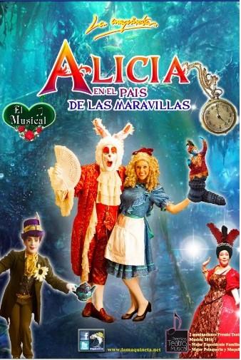 Alicia En El País De Las Maravillas Musical En A Coruña La Guía Go