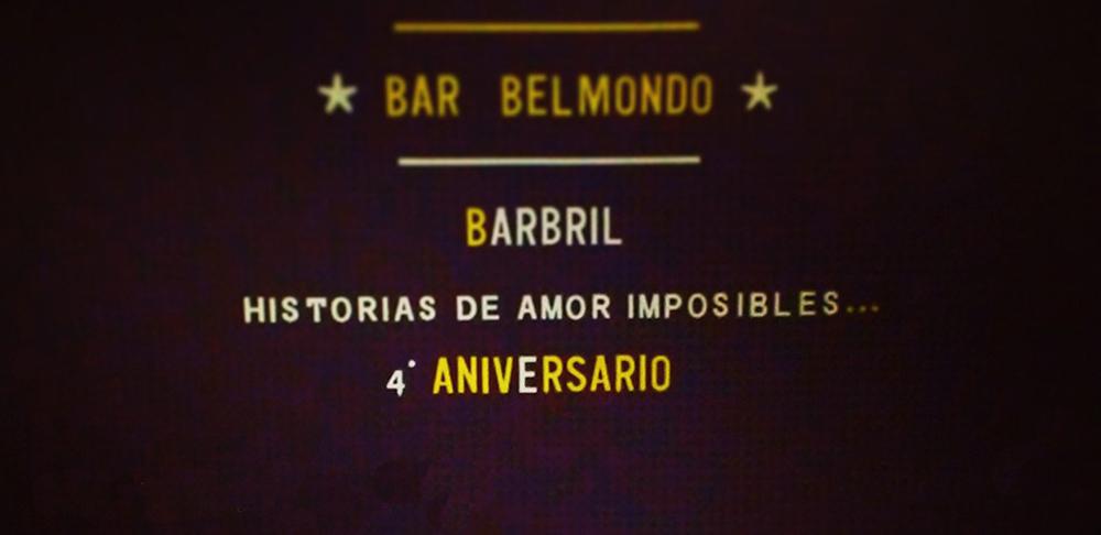 Fastos y Festejos en el Bar Belmondo