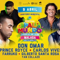 Festival PalMundo, caribbean and latin en el Auditorio Municipal Cortijo de Torres de Málaga