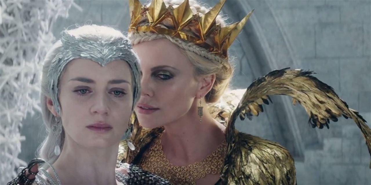 nuevo trailer de Las cronicas de Blancanieves El cazador y la reina del hielo