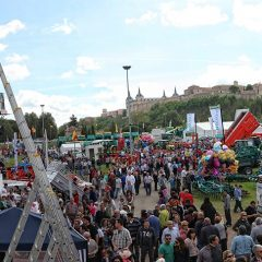 Feria de maquinaria agrícola y del automóvil de Lerma 2016