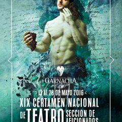 XIX Certamen Nacional de Teatro Garnacha de Rioja, Haro 2016