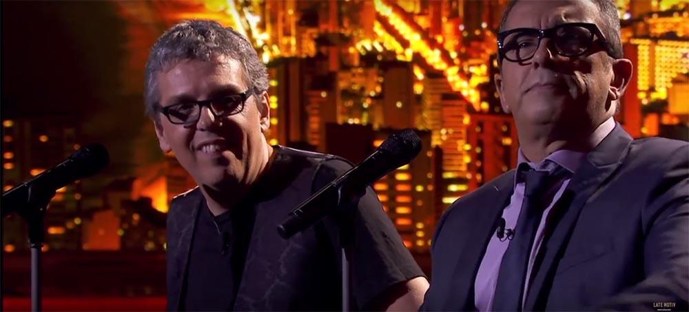 Pedro Guerra y Andreu Buenafuente cantan a dúo