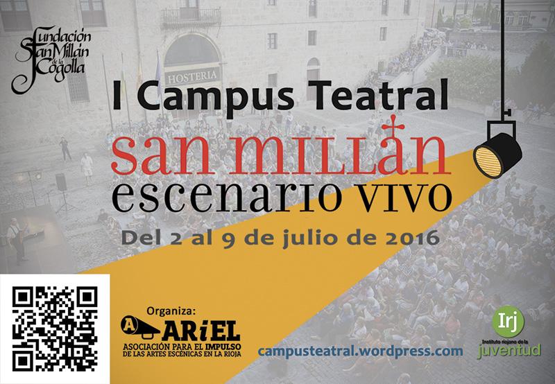 I Campus Teatral: San Millán Escenario Vivo