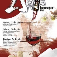 25 aniversario de  La Feria de Artesanía y Vino de Fuenmayor