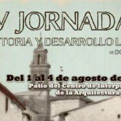 XV Jornadas de Historia y Desarrollo Local de Dos Torres(Córdoba) del 1 al 4 de Agosto.