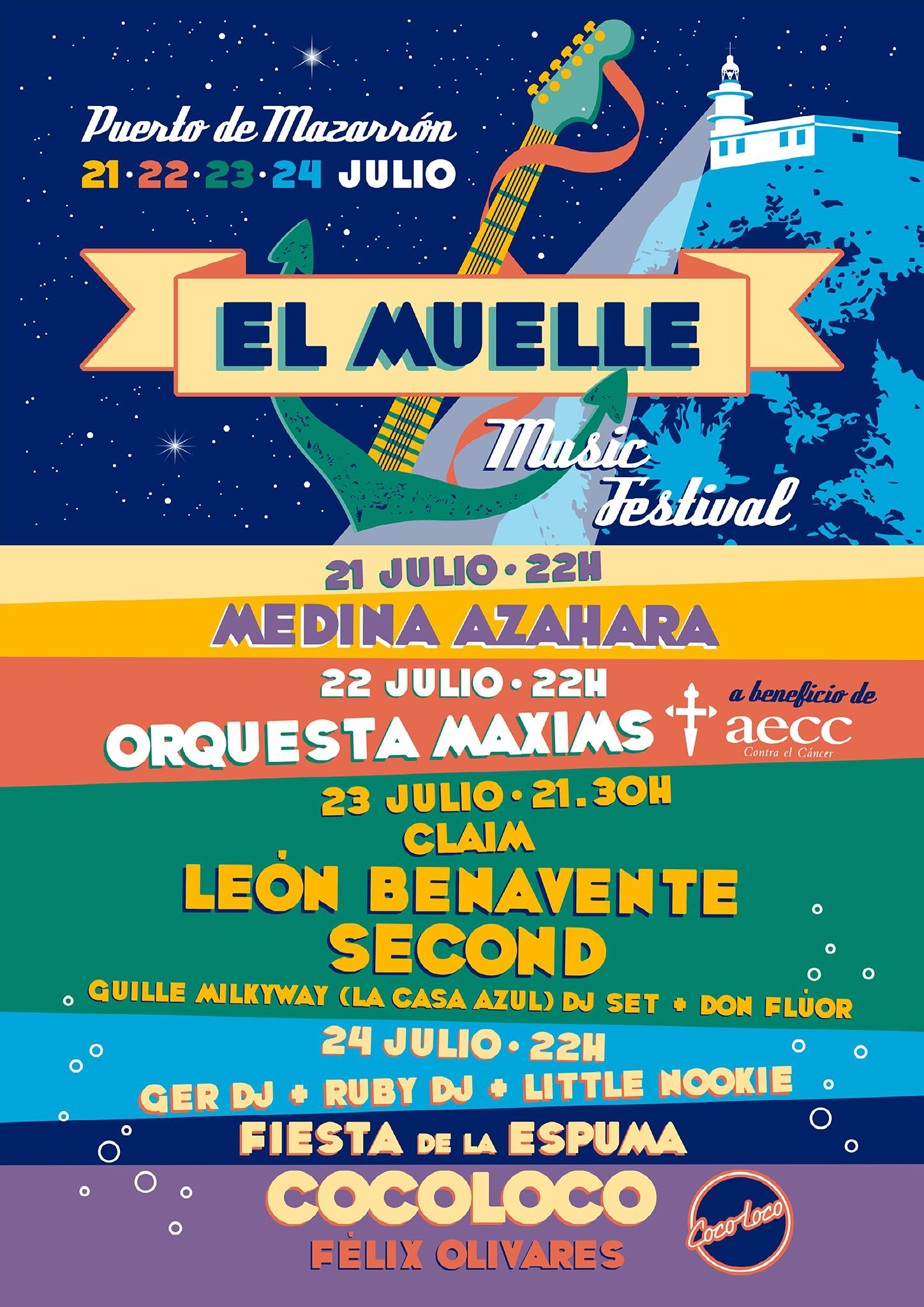 cartel muelle music festival