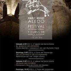 I Festival Internacional y Curso de Música Antigua Early Music Aledo