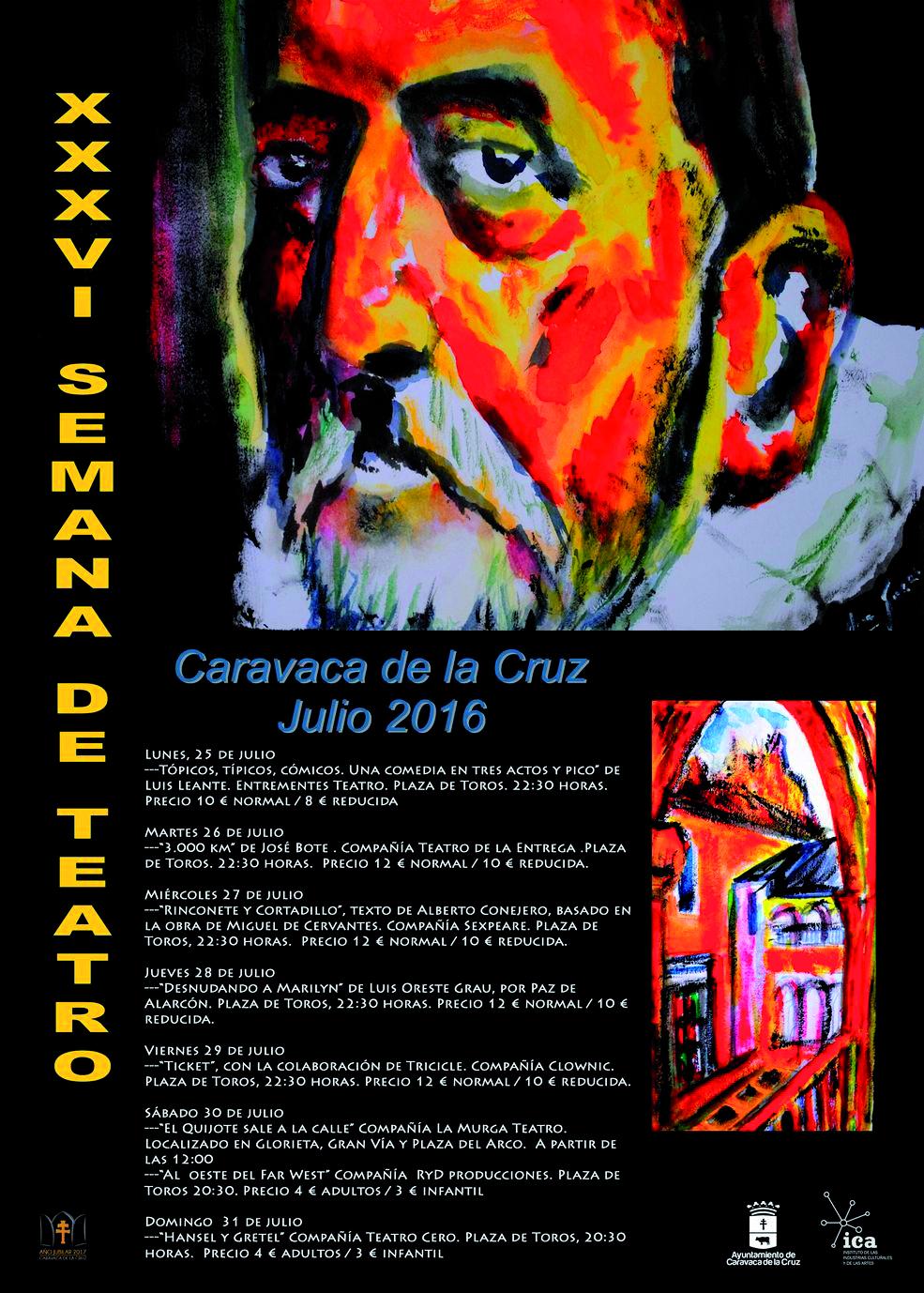 La Semana de Teatro en Caravaca de la Cruz