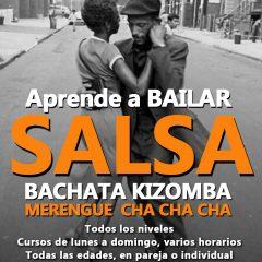 Clases de salsa y ritmos latinos en el Saoco