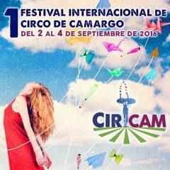 Primer Festival Internacional de Circo de Camargo- CIRCAM