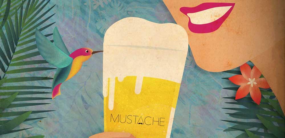 Cata Maridaje Mustache x GO! en La Obrera