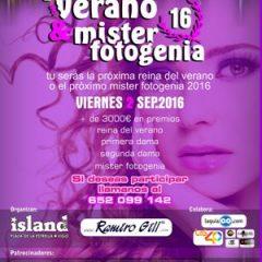 Concurso Reina del verano y Míster fotogenia en Island club de Vigo