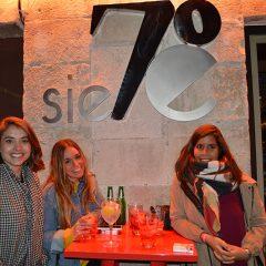 Fotos de la inauguración del Siete 70