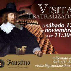Visitas teatralizadas en Bodegas Faustino