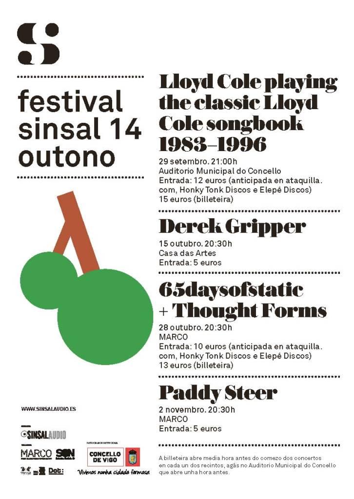 Sinsal Outono 14, ciclo de conciertos en Vigo