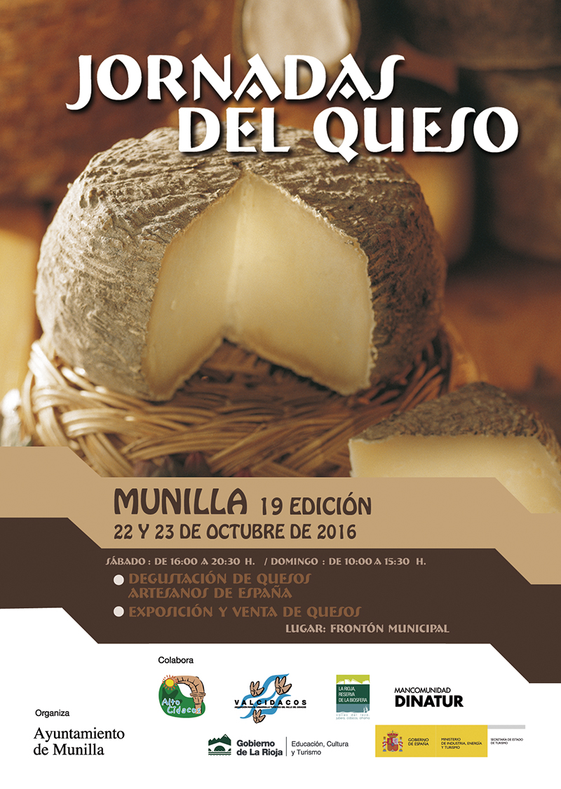 Jornadas del queso en Munilla