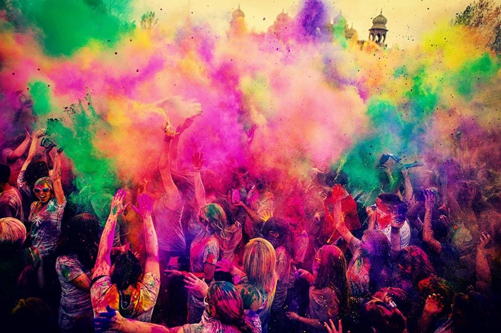 El 22 de septiembre se celebra el Festival Holi Colours en Málaga