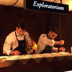 Así fue la mesa nómada del Exploratorium de San Miguel en Burgos