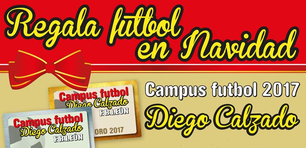 Regala fútbol en Navidad con el Campus de Fútbol Diego Calzado
