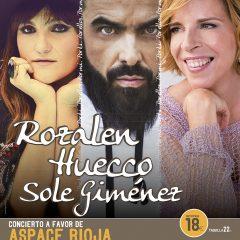 Rozalén, Huecco y Sole Giménez