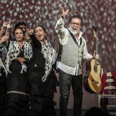 Zambomba flamenca 2016, en el Teatro La Latina