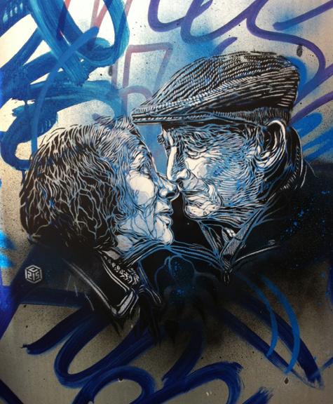 Exposición del reconocido graffitero francés C215 en el Cuarto Real de Santo Domingo