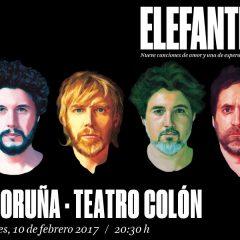 Elefantes, concierto en A Coruña