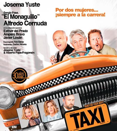Taxi, una comedia de Ray Cooney en el Alameda (Del 28 de abril al 13 de mayo)