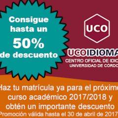 Apostamos por el aprendizaje de idiomas en UcoIdiomas