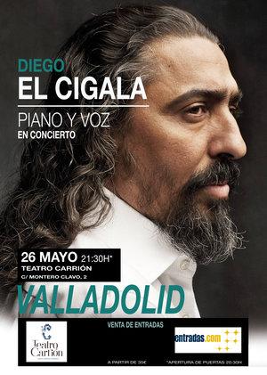 `Diego El Cigala´ en el Teatro Carrión