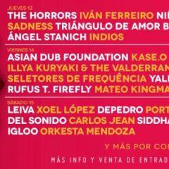 El Festival PortAmérica confirma a Leiva, The Horrors, Asian Dub Fundation o Aterciopelados