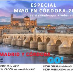 Edición Especial Mayo en Córdoba en Guia de Ocio(Madrid) y Guia GO!(Córdoba)