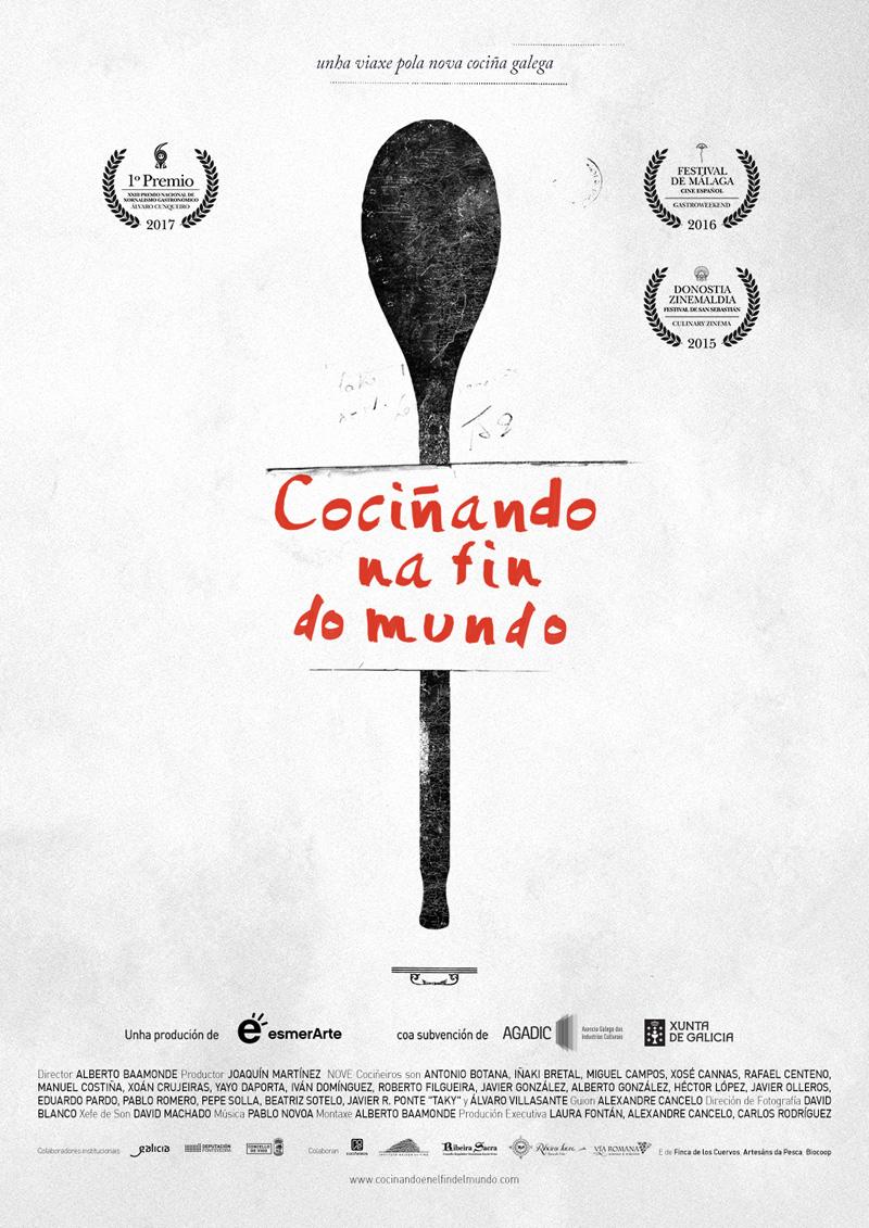 Cociñando na fin do mundo, documental en la sede Afundación de Vigo