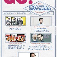 Comedia de Mercado regresa a Zaragoza con mucho humor