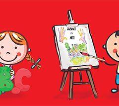 'Jardines con arte' actividad lúdica y artística gratuita para niños