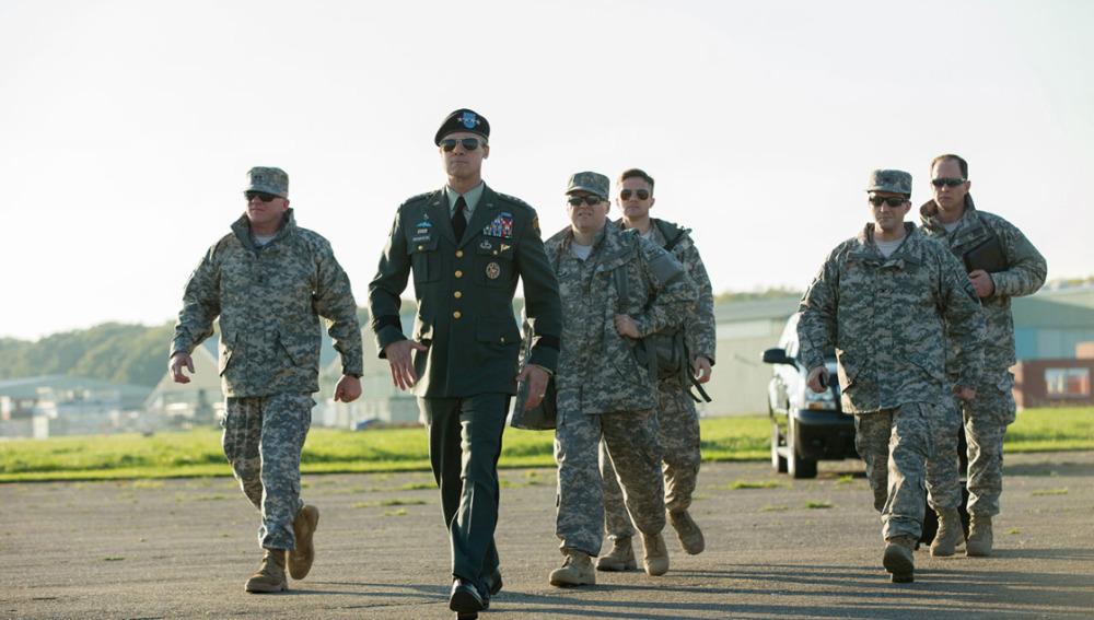 Brad Pitt, protagoniza la película Máquina de guerra