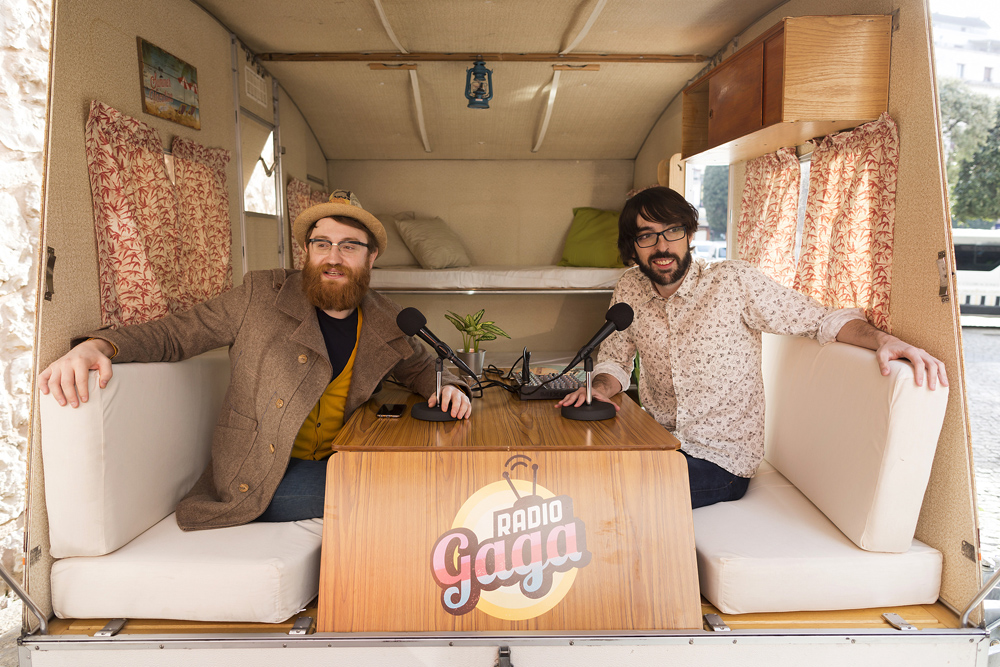 Radio GAga con Quique Peinado y Manuel Burque