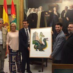 El Ayuntamiento presenta el cartel de la Fiesta del Corpus, obra del artista Joaquín Peña-Toro