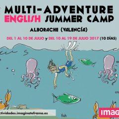CAMPAMENTO MULTIAVENTURA DE INMERSIÓN LINGÜÍSTICA, ENGLISH SUMMER CAMP