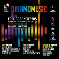 2, 9 y 16 de Junio, Conciertos Dinamo Music