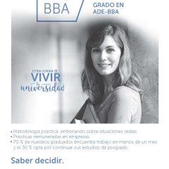 Grado en Administración y Dirección de Empresas-BBA impartido por el IESIDE