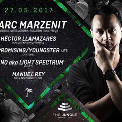 Marc Marzenit en The Jungle Dance Floor (Carrizo de la Ribera)