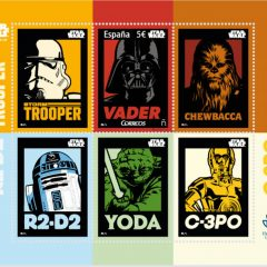 Sello conmemorativo de Star Wars