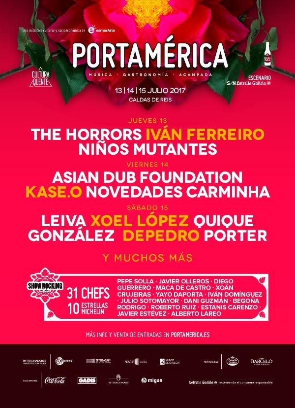 Abono con descuento para el Festival Portamérica 2017 aquí